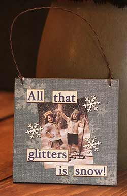 All That Glitters Ornament