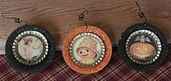 Halloween Bottlecap Plate Ornament