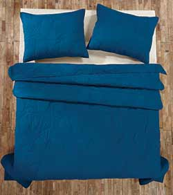 Washington Star Blue Quilt - Twin