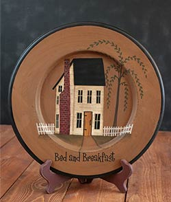 Bed and Breakfast Plate