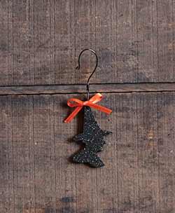 Witch Glitter Ornament
