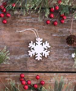 Mini Snowflake Ornament