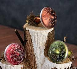Mushroom Clip Ornament