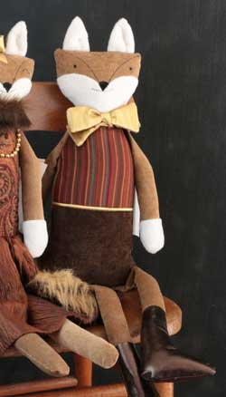 Woof & Poof Mahogany Stripe Fox Boy