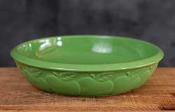 Green Apple Pie Dish