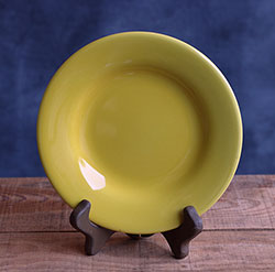 Sonoma Yellow Appetizer Plate