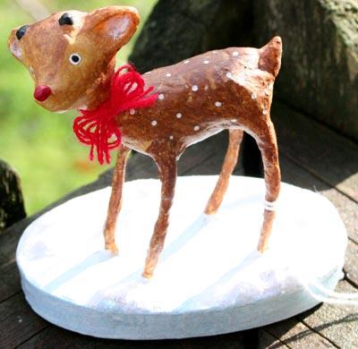 Baby Rudolf by Lori Mitchell