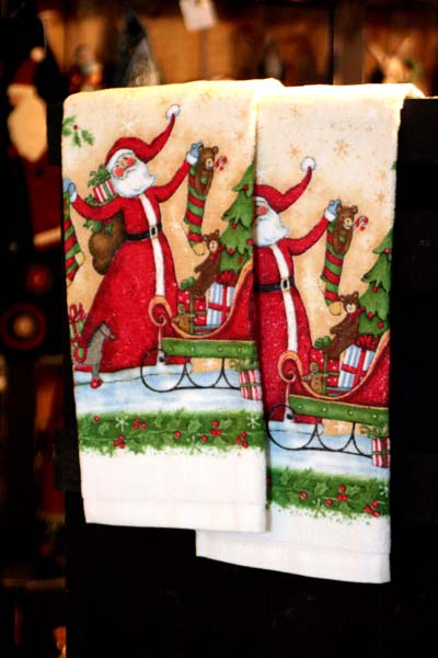 Santa Towels