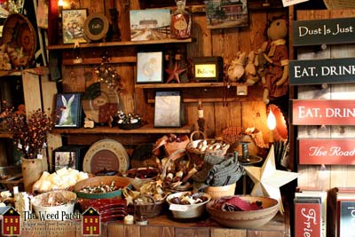 Country Primitive products at The Weed Patch