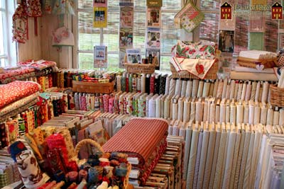 Keepsake Cottage Fabrics in Bothell's Country Village!