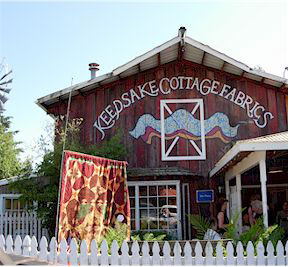 Keepsake Cottage Fabrics Storefront!