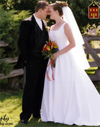Chris & Janene Tindall Wedding Pic