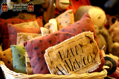 Happy Halloween Pillow by Honey and Me at The Weed Patch