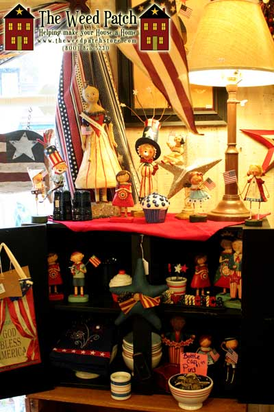 Americana Display at The Weed Patch