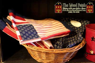 Park Designs Old Glory towels and linens at The Weed Patch