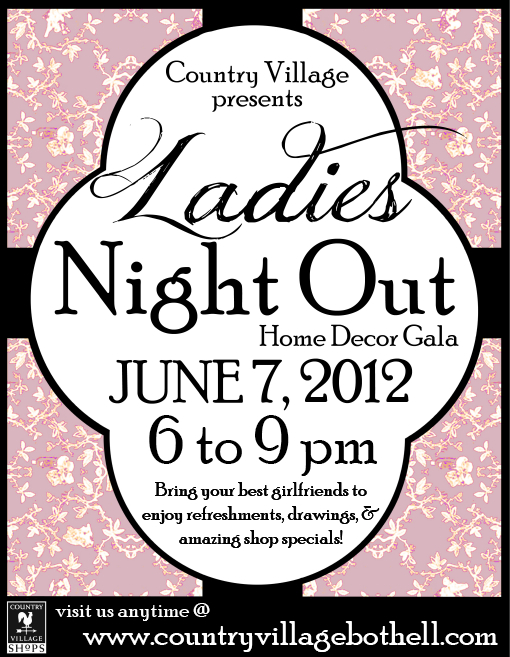 Ladies Night Out : Home Decor Gala at Country Village
