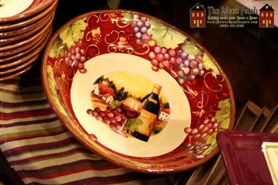 Certified International Wine Dishes