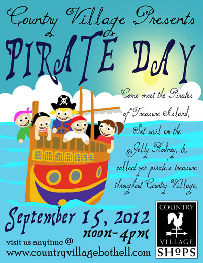 Pirate Day at Country Village Shops!