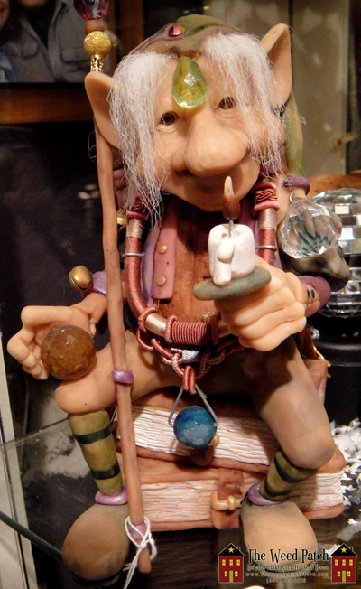 Dennis Brown Sculpture Goblin Wizard