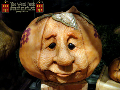 Halloween Sculptor Dennis Brown Pumpkin Head