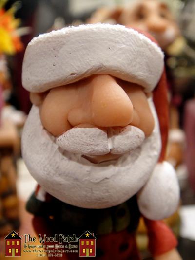 Artist Dennis Brown Santa Figurine