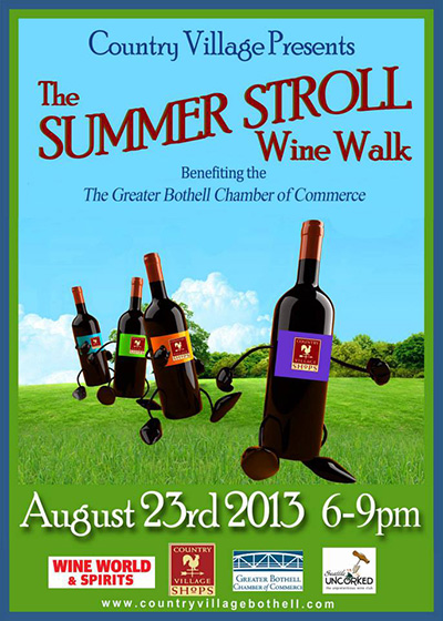 Country Village Summer Wine Walk