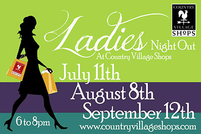 Country Village Ladies Night Out August 2013