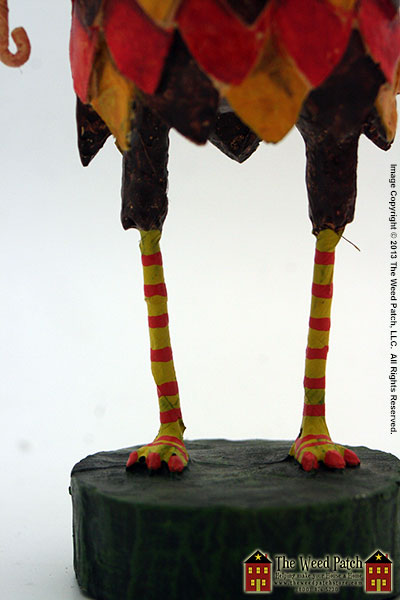 Hoot-N-Hollar figurine by Lori Mitchell at The Weed Patch