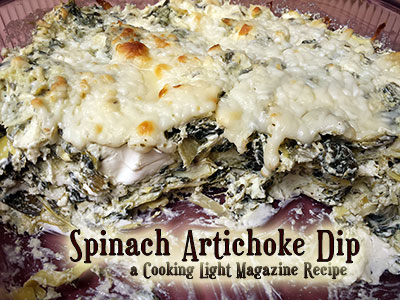 Cooking Light Spinach Artichoke Dip