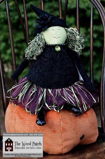 Woof & Poof Purple Ribbon Skirt Medium Witch - Halloween 2014 at The Weed Patch