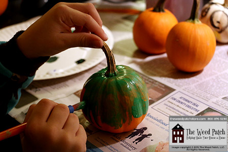 Pumpkin Painting at The Weed Patch