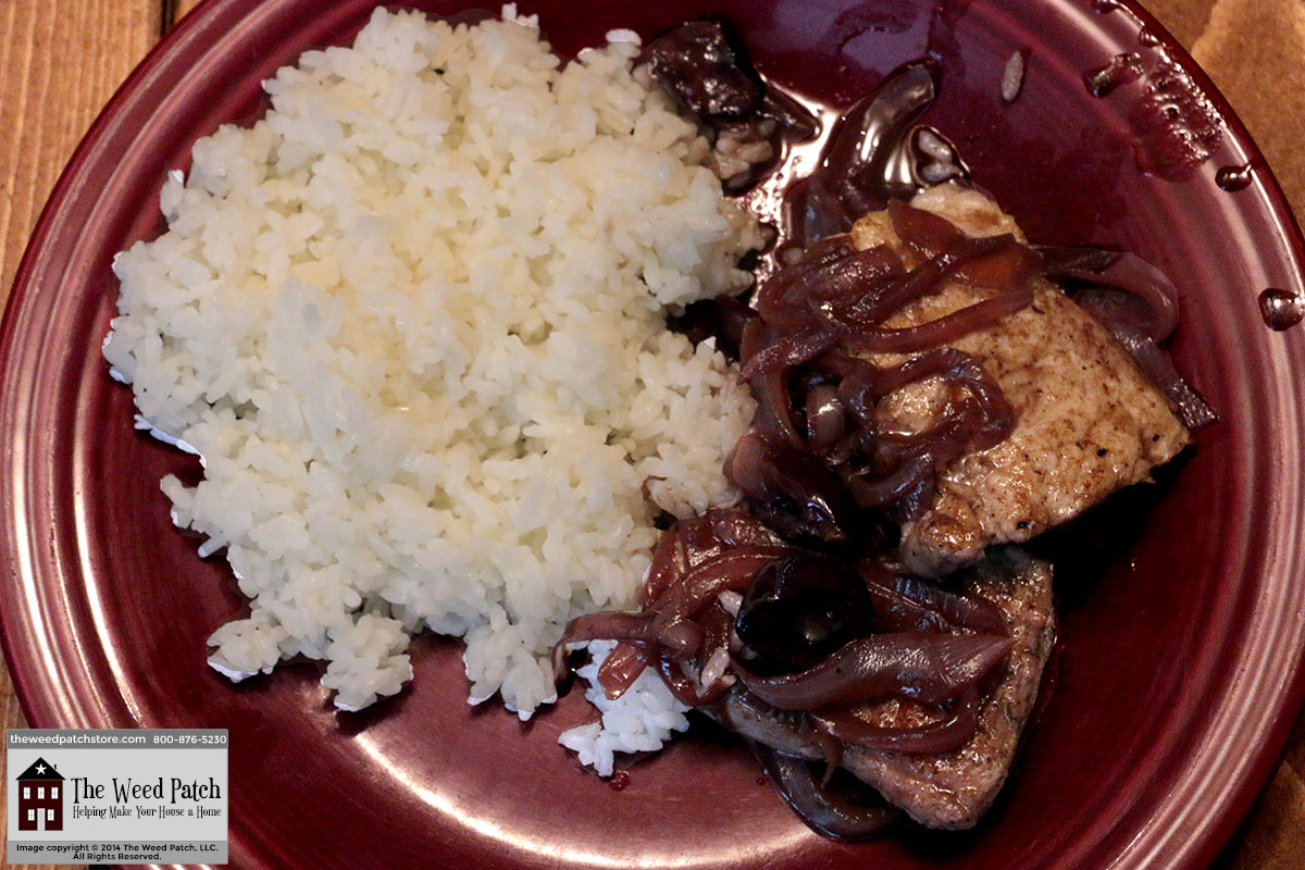 Recipe: Pork Tenderloin with Cherry Sauce at The Weed Patch