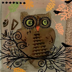 Owl Paper Cocktail Napkins