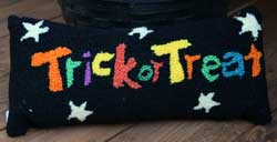 Trick or Treat Halloween Pillow
