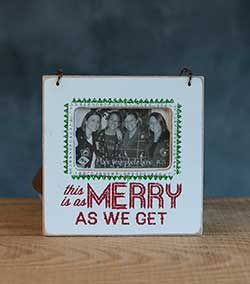 As Merry Fancy Frame Ornament