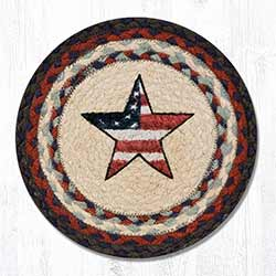 Americana Star Braided Trivet