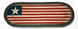 Original Flag Braided Jute Table Runner - 36 inch