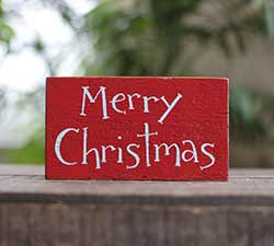 Merry Christmas Small Sign