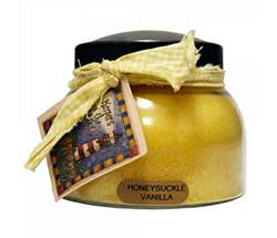 Honeysuckle Vanilla Keepers of the Light Jar Candle - Mama