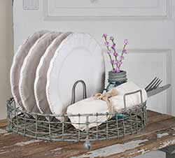 Vintage Dish Display Rack