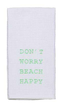 Beach Happy Dishtowel