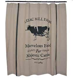 Lilac Mill Farms Shower Curtain