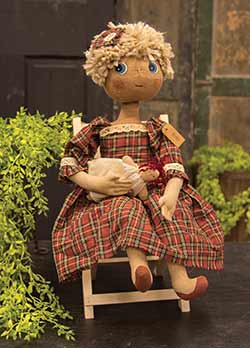 Holly Primitive Doll