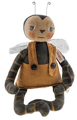 Primitive Bee Doll