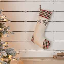 Hollis Stenciled 20 inch Stocking