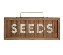 Seeds Framed Sign