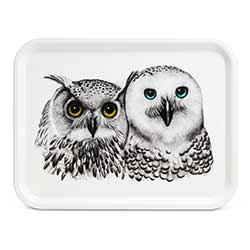 Contemplation Owl Tray