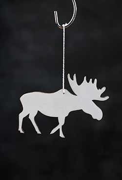 Moose Personalized Ornament