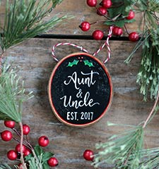 Family & Friend Ornaments