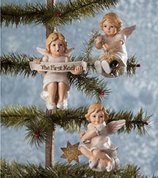 Angel & Faith Ornaments